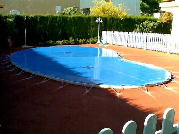 Cobertores Piscina  Protector piscina redonda / legumbre