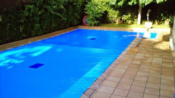 Cobertor para piscina rectangular
