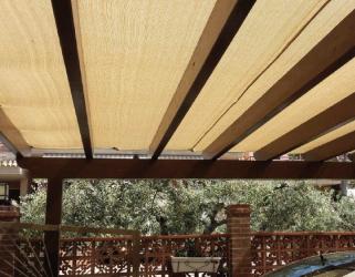 Malla Facundo sol de madera en Castellón