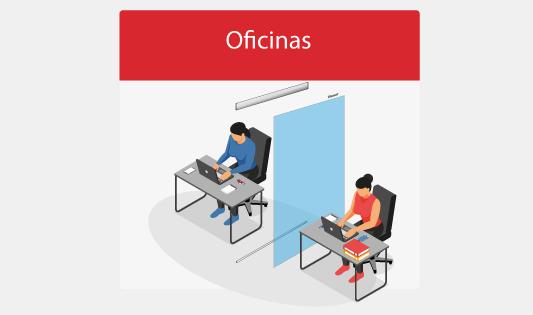 Mamparas para oficinas