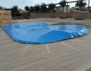 Cobertor piscina - jacuzzi en Castellón