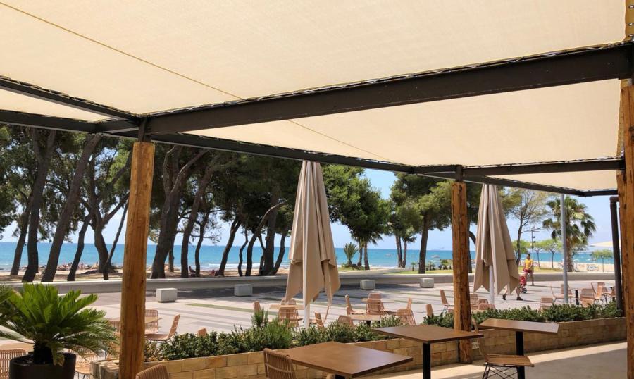 cubierta para hostelería Benicassim